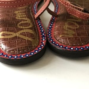 Sam Edelman Shoes - Sam Edelman Gigi Tribal Thong Flip Flop Sandal new